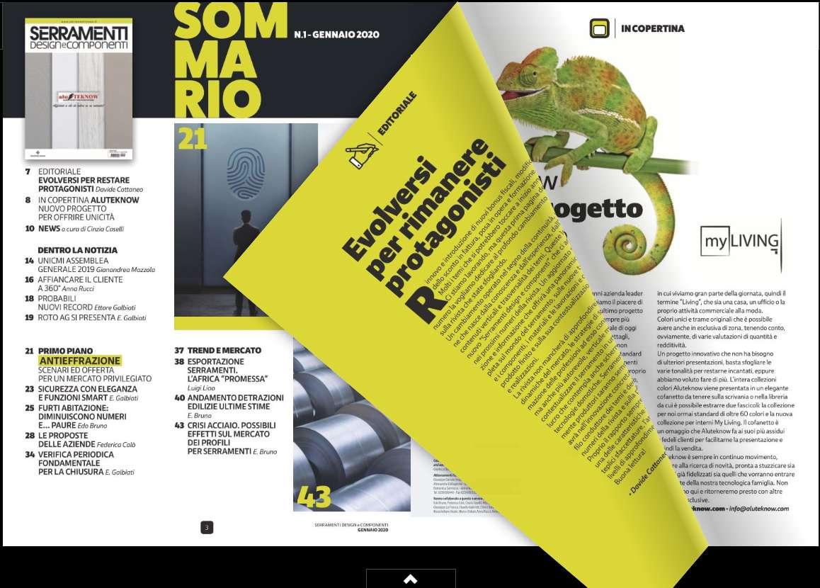 Rivista Porte E Finestre serramenti design e componenti: nuova rivista del gruppo